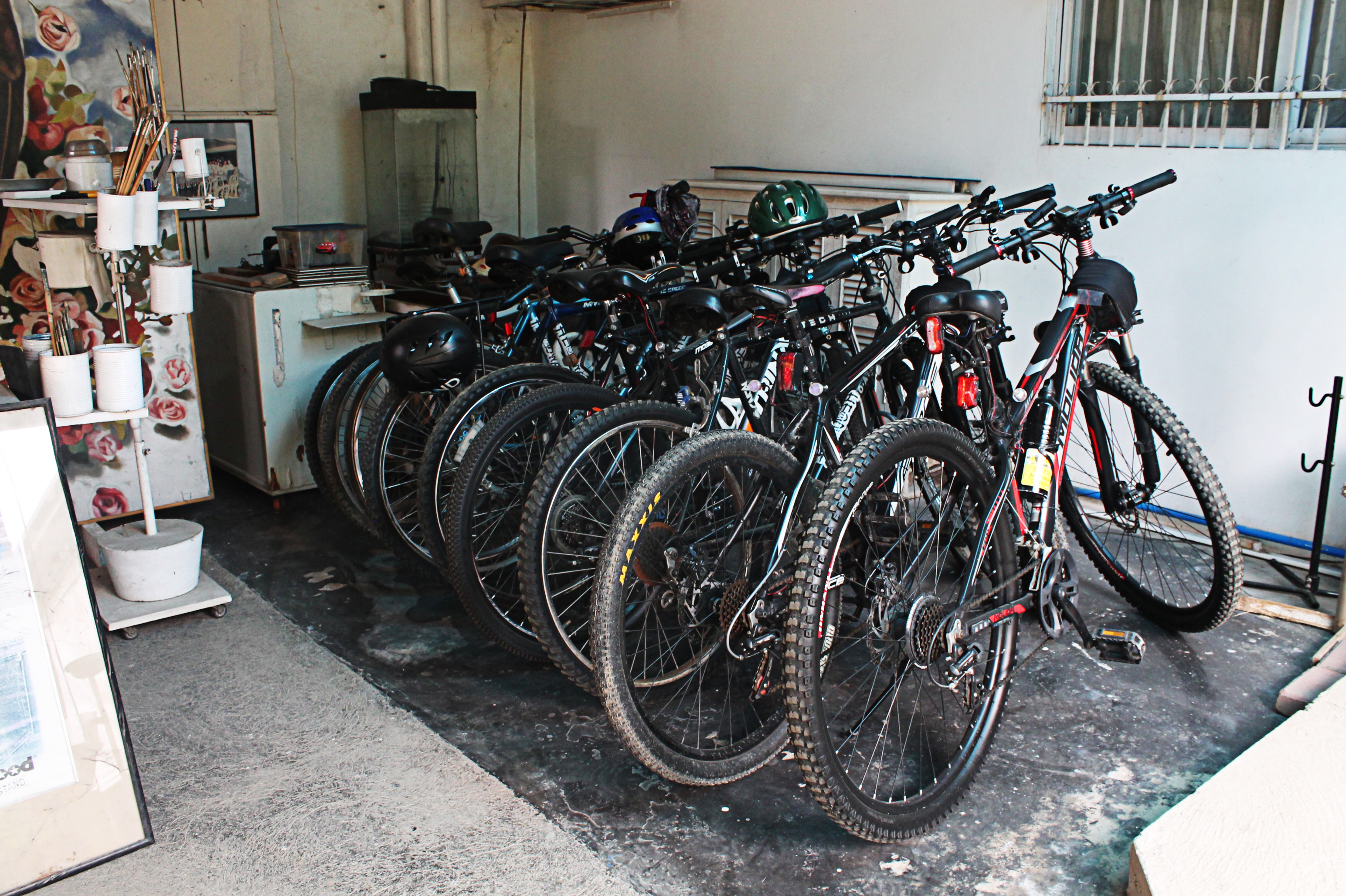 Bikes from Bikes for the Philippines