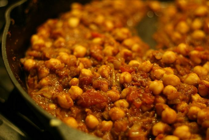 Chana masala (Flickr Photo)