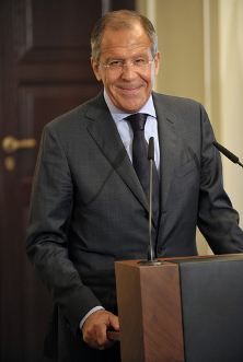 Russian Foreign Minister Sergey Lavrov (Flickr Photo)