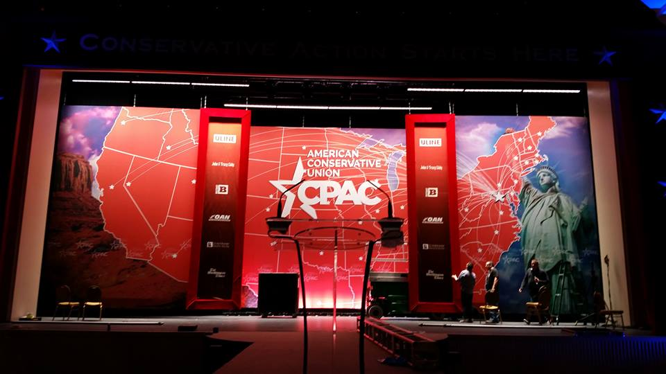 As conservatives filtered into their convention hall Wednesday for their annual gathering, many said they still have nagging doubts about Trump even as they cheer his early actions. A Wednesday night decision to reverse an Obama-era directive that said transgender students should be allowed to use public school bathrooms and locker rooms matching their chosen gender identity has thrilled social conservatives. (Photo: The American Conservative Union/ Facebook)