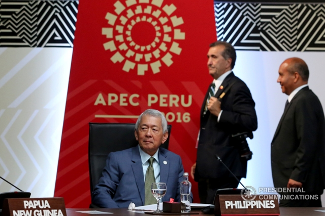 The Philippine government is doing its best to improve peace and order to make this country haven of tourists and foreign investors, Foreign Affairs Secretary Perfecto Yasay Jr., on Thursday said. (Photo: REY BANIQUET/Presidential Photo)