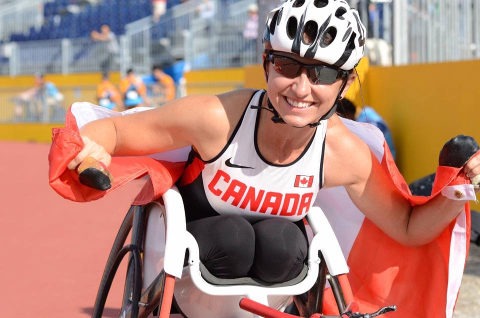 """I feel like it's the right time and I've done what I want to achieve at the paralympic level,"" Stilwell said in an interview before her announcement.  (Photo:  Michelle Stilwell/ Facebook)"