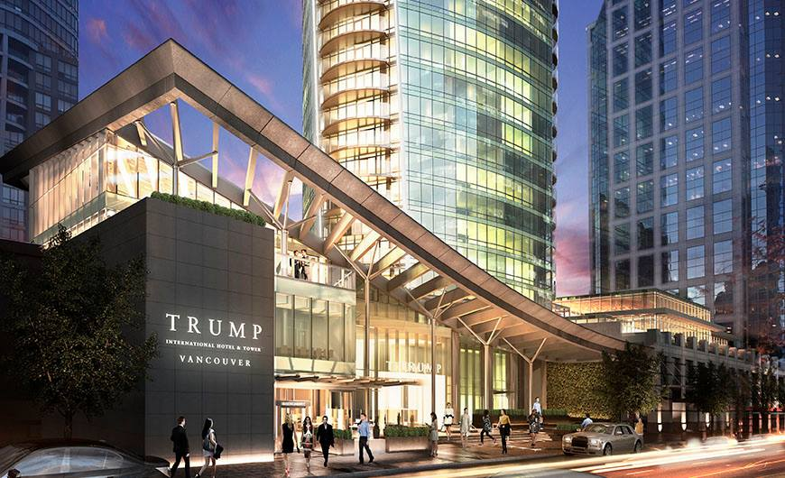 FILE: Trump Tower  (Photo: Trump International Hotel & Tower Vancouver/ Facebook)