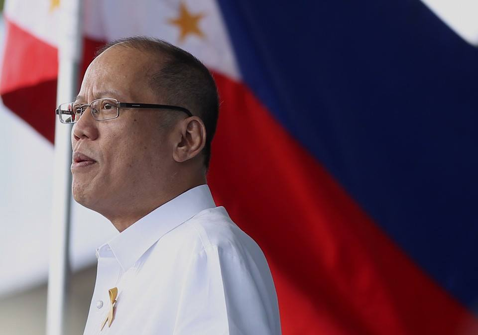 The former president was acknowledged by the people because this was his first appearance in public for such an event when he stepped down from office on June 30, 2016. (Photo: Noynoy Aquino (P-Noy)/ Facebook)