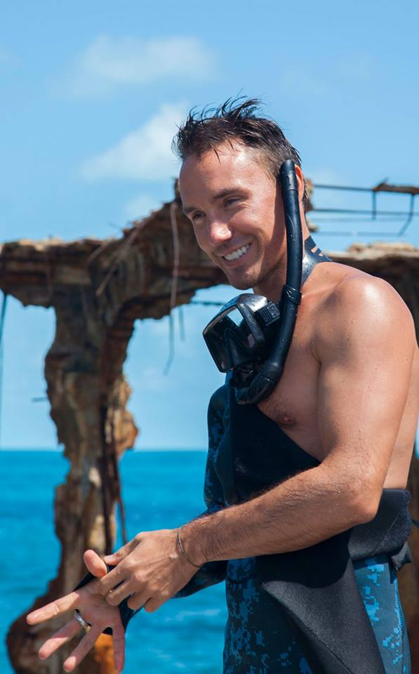 "The family of Toronto filmmaker Rob Stewart says his body was ""found peacefully in the ocean'' Friday after he disappeared this week while diving off the coast of Florida. (Photo: Rob Stewart/Facebook)"