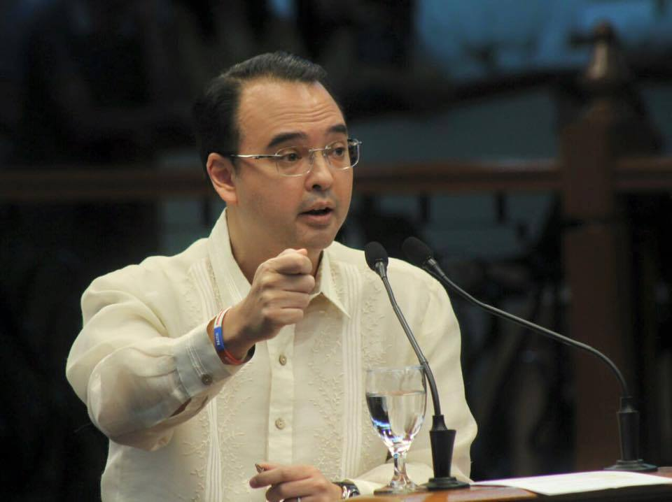 Senator Alan Peter Cayetano, chairman of the Committee on Foreign Relations and sponsor of Resolution 283, said the agreement seeks to coordinate the pension programs for people who live or work in the Philippines and Japan  (Photo: Duterte Today/Facebook)