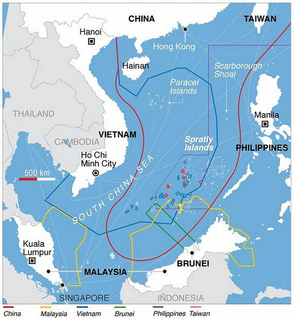China continues 'steady pattern' of S.China Sea militarization