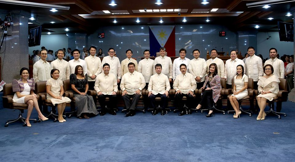 "Senators who voted against opening a probe into the new testimony of retired SPO3 Arthur Lascañas –alleged head of the so-called vigilante group Davao Death Squad –on Wednesday said that the move was a ""slap in the face"" to the Senate. (Photo: Senate of the Philippines/ Facebook)"