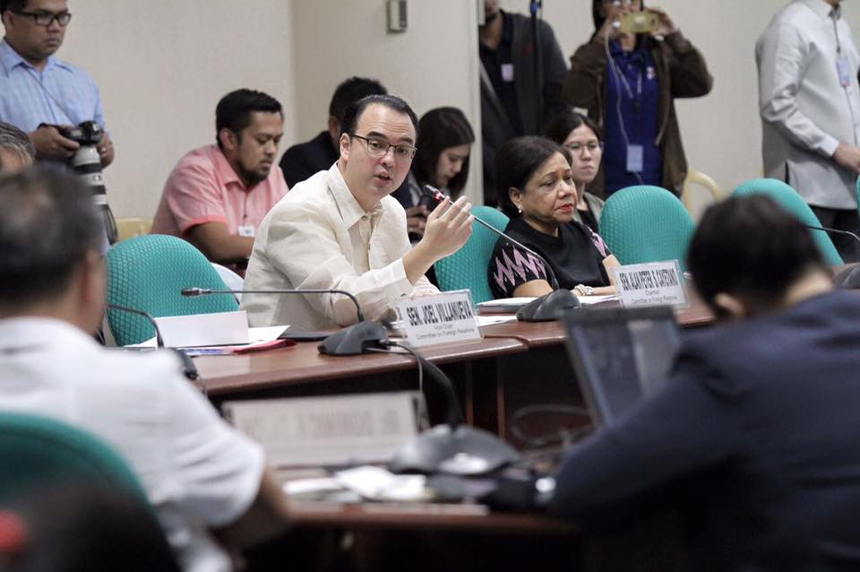 Undocumented OFWs in US will be given assistance—Cayetano (Photo: Alan Peter Cayetano/Facebook)