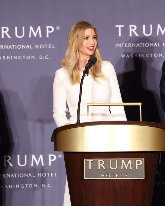 "President Donald Trump tweeted Wednesday that Nordstrom, which decided to stop selling Ivanka Trump's clothing and accessory line, treated his daughter ""so unfairly.""  (Photo: Ivanka Trump/Facebook)"