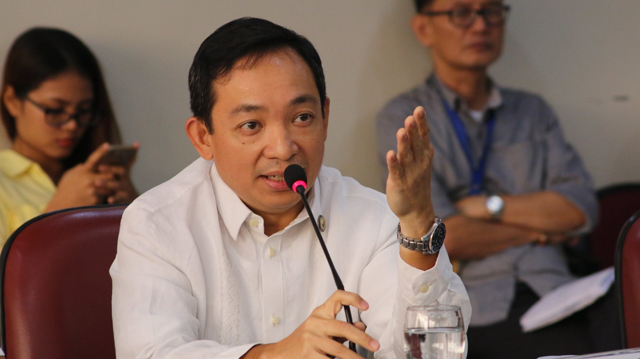 ACT Teachers Rep. Antonio Tinio. (Photo: Act Teachers Party-List/Facebook)