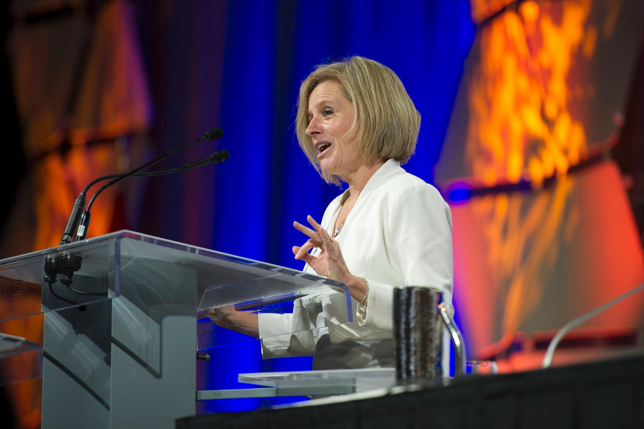 Alberta is willing to accept more refugees if the federal government decides to lift a cap on how many can come to Canada, says Premier Rachel Notley (Pictured). (Photo: Rachel Notley/ Facebook)