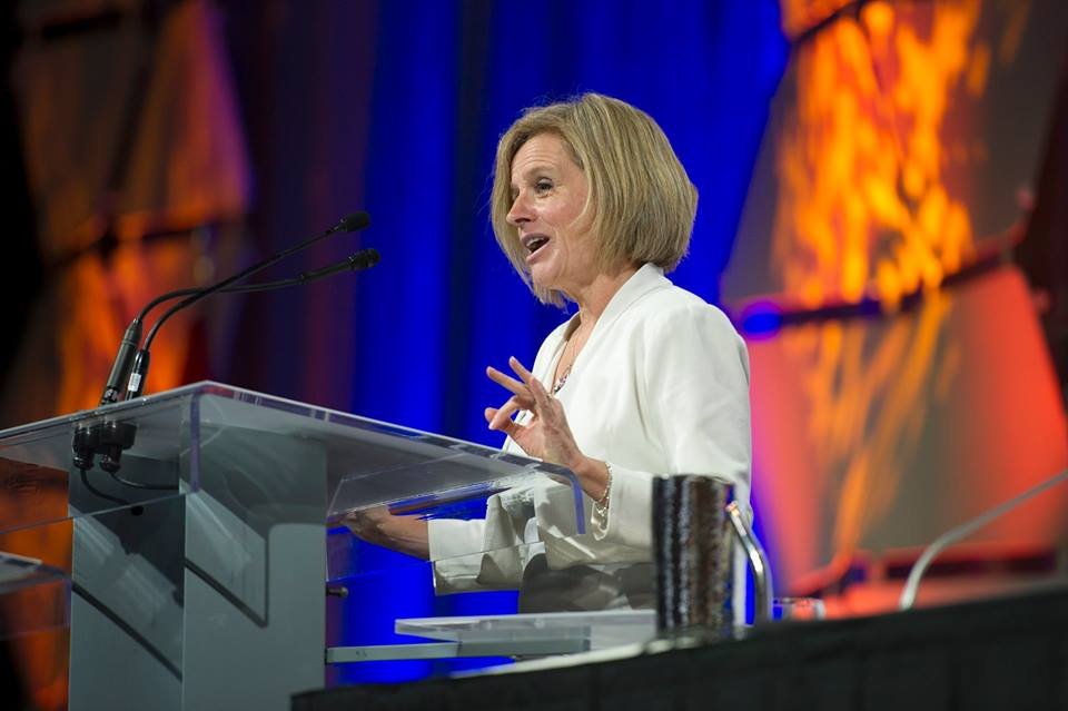 Premier Rachel Notley is to head to Washington, D.C., at the end of the month to promote Alberta and highlight existing trade ties. (Photo: Rachel Notley/Facebook)