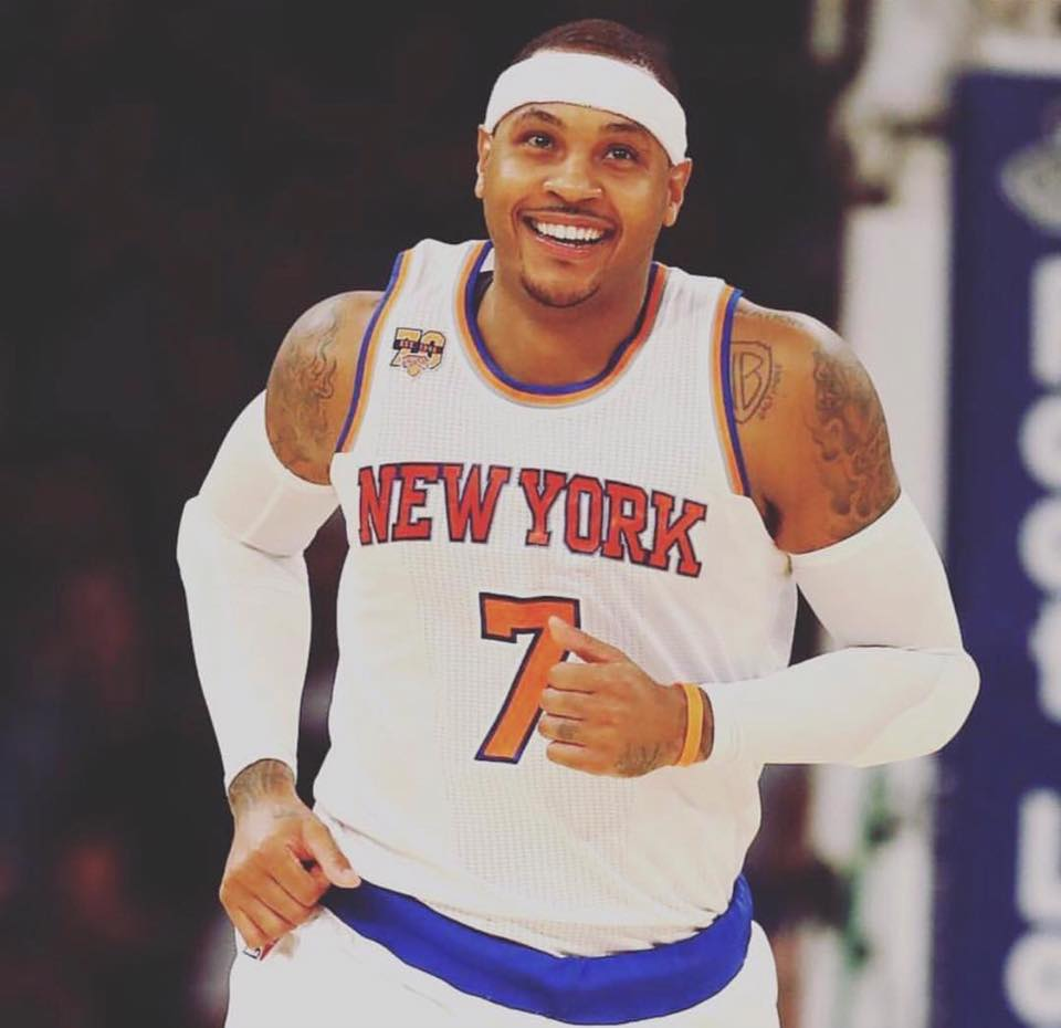 Phil Jackson may be trying to trade Carmelo Anthony because he's given up trying to change him. (Photo: Carmelo Anthony/ Facebook)