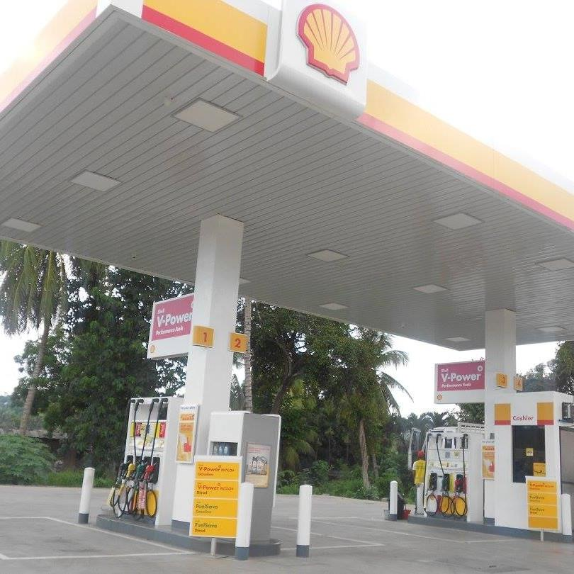 Flying V and Pilipinas Shell Petroleum Corp. will increase diesel prices by 20 centavos per liter and kerosene prices by 10 centavos per liter on Tuesday. (Photo: Shell Camaman-an Pocketaces Gasoline Station/Facebook)