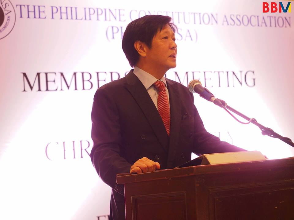 Department of Interior and Local Government Secretary Ismael Sueno said his work is business as usual despite reports of former vice presidential candidate Ferdinand Marcos Jr. taking over his post. (Photo: Bongbong Marcos Jr. / Facebook)