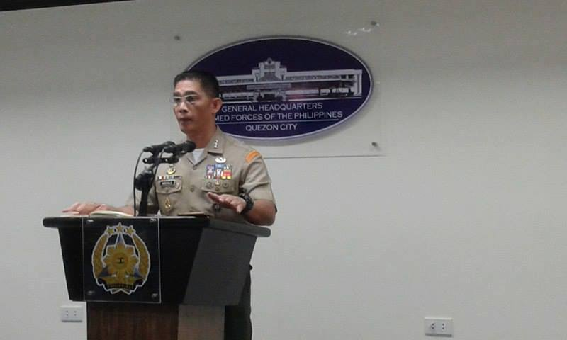 FILE: This is aside from augmenting regular units deployed to secure these persons, AFP public affairs office chief Col. Edgard Arevalo said Sunday.  (Photo: PTV/Joy Gumatay/Facebook)