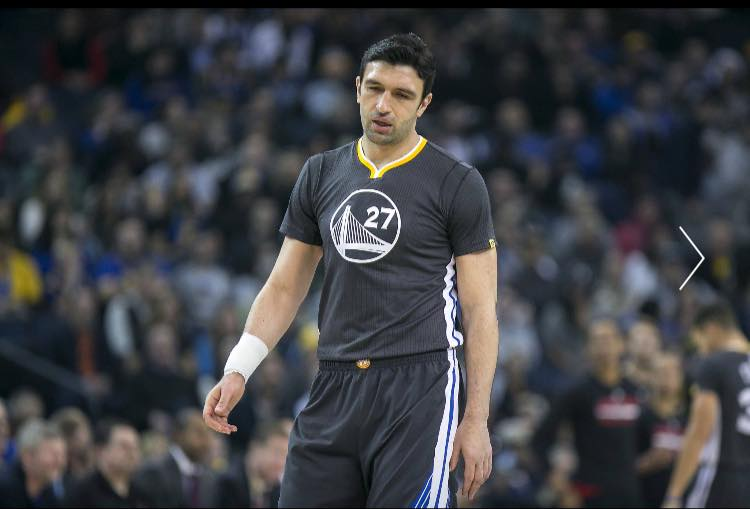 Golden State Warriors centre Zaza Pachulia (Pictured) has a strained rotator cuff in his right shoulder and will be sidelined for at least a week. (Photo: Zaza Pachulia/ Facebook)