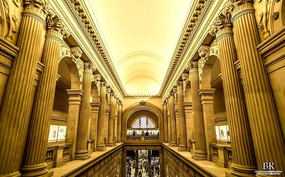 New York City's cavernous Metropolitan Museum of Art has been holding lively morning workout sessions this winter amid its prized masterpieces. (Photo: PhotonHuntsman/ Facebook)