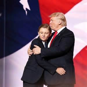 "Ten-year-old Barron was the target of a poorly received joke tweeted by a ""Saturday Night Live"" writer on Jan. 20 as the new first family reveled in Inauguration Day events. Separately in Chicago, comedian Shannon Noll played the title character in ""Barron Trump: Up Past Bedtime,"" which had a recent run at a theatre in Hyde Park. (Photo: Barron Trump/ Facebook)"