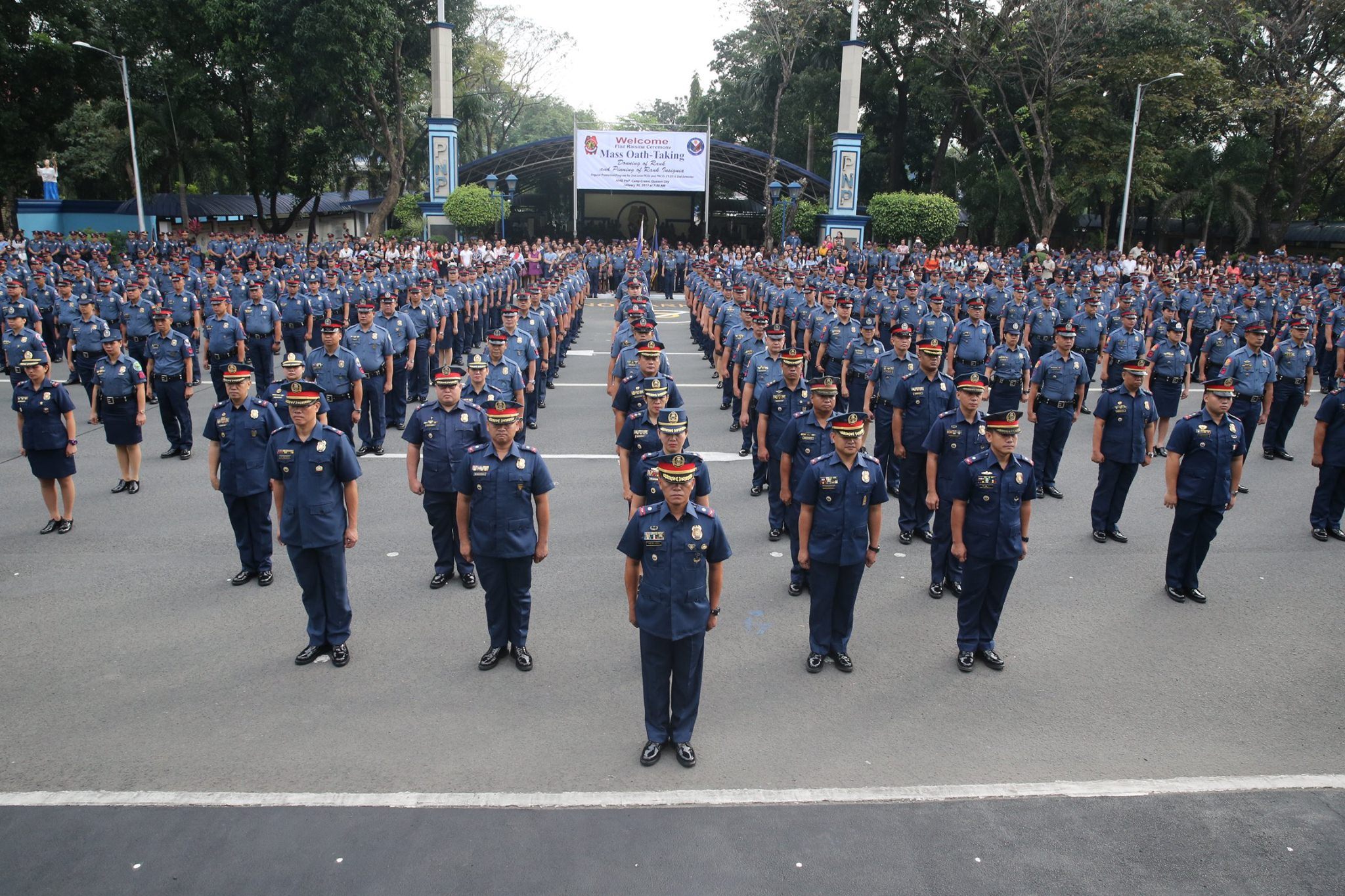 Malacanang said on Wednesday that the reforms currently being implemented in the Philippine National Police (PNP) will eradicate the scalawags and criminals within the PNP (Pictured) . (Photo: Philippine National Police/ Facebook)