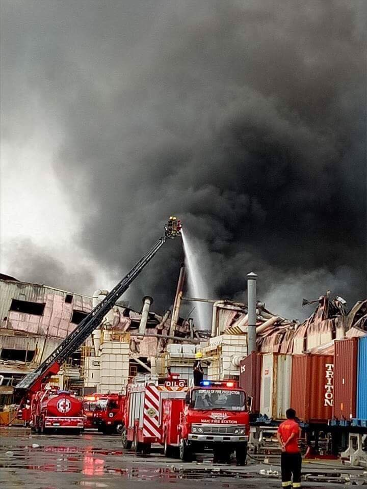 A third fire victim of the ill-fated manufacturing plant House Technology Industries (HTI) at EPZA, Bacao 2 in General Trias City died Friday evening, hours after he was transferred due to severe infection to the Jose R. Reyes Memorial Medical Center (JRRMMC) in Manila. (Photo: Philippine Red Cross/Facebook)