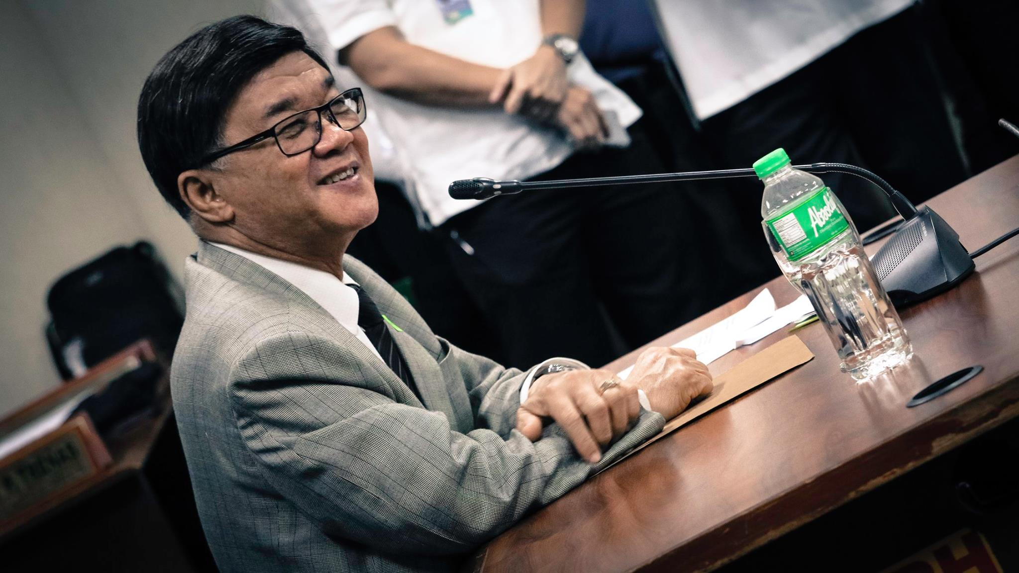 Justice Secretary Vitaliano Aguirre II on Monday reiterated his call to the employees to help him in wiping out corruption in the agency under the Duterte administration. (Photo: Senator Ping Lacson/Facebook)