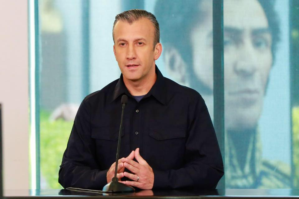 The Trump administration imposed sanctions against Venezuelan Vice-President Tareck El Aissami on Monday, accusing him of playing a major role in international drug trafficking. (Photo: Tareck El Aissami/Facebook)