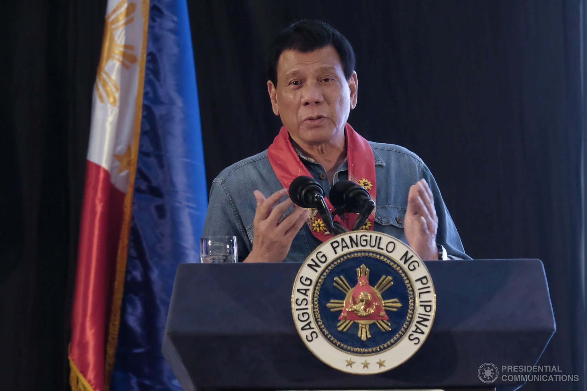 President Rodrigo Duterte has approved the recommendation of the Department of National Defense (DND) to revive mandatory Reserve Officers Training Corps (ROTC) program (Government of the Philippines)/ Facebook)