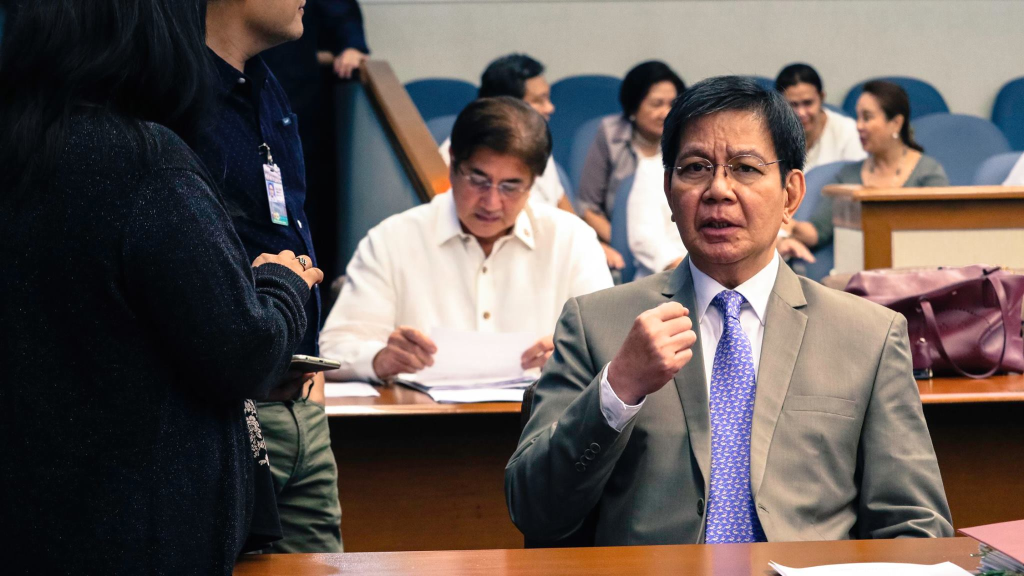 "Sen. Panfilo ""Ping"" Lacson  (Pictured) filed on Wednesday a bill seeking to give the Internal Affairs Service (IAS) of the Philippine National Police (PNP) more teeth. (Photo: Senator Ping Lacson/ Facebook)"