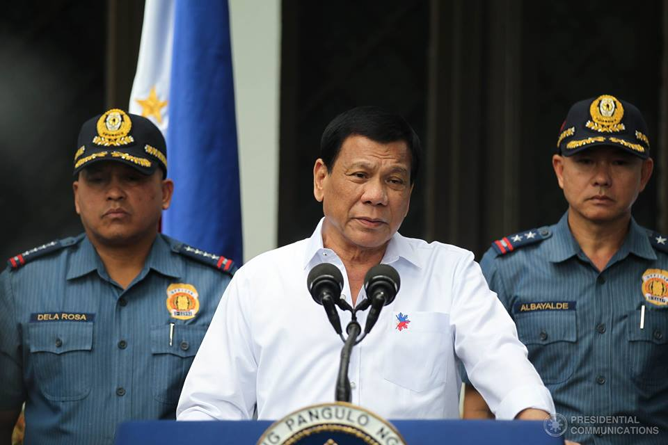 President Rodrigo Duterte on Tuesday clarified that the arrest order against the owner Mighty Corporation was for economic sabotage and not for bribery attempts. (Photo: Presidential Communications (Government of the Philippines)/ Facebook)