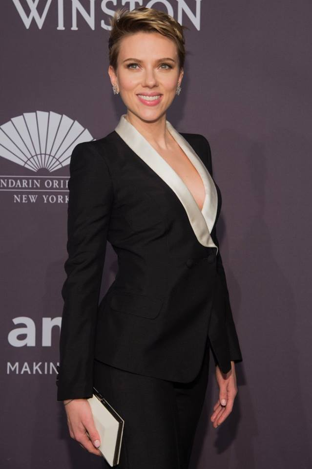 Scarlett Johansson made a rare public appearance since news broke that she split with husband, Romain Dauriac. (Photo: Scarlett Johansson Italia/Facebook)