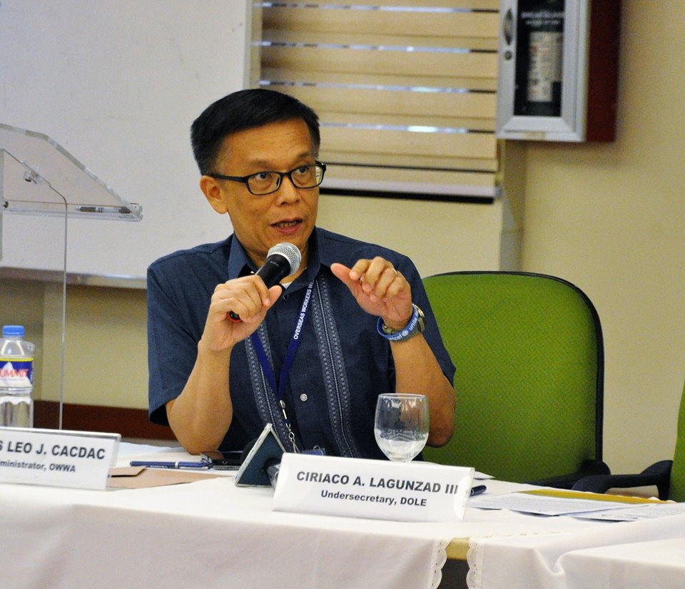 Overseas Workers Welfare Administration (OWWA) Administrator Hans Cacdac said on Monday that Labor leaders from the Association of Southeast Asian Nations (ASEAN) have agreed on the suggestion of Department of Labor and Employment (DOLE) Secretary Silvestre Bello III regarding the crafting of an instrument for the protection and promotion of rights of migrant workers in the region. (Photo: OWWA Overseas Workers Welfare Administration/Facebook)