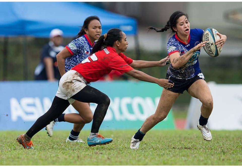 The Philippine Lady Volcanoes eye a spot in the Asian Sevens Series in the Asia Trophy Series in Vientiane this weekend. (Photo: The Philippine Lady Volcanoes eye a spot in the Asian Sevens Series in the Asia Trophy Series in Vientiane this weekend./ Facebook)