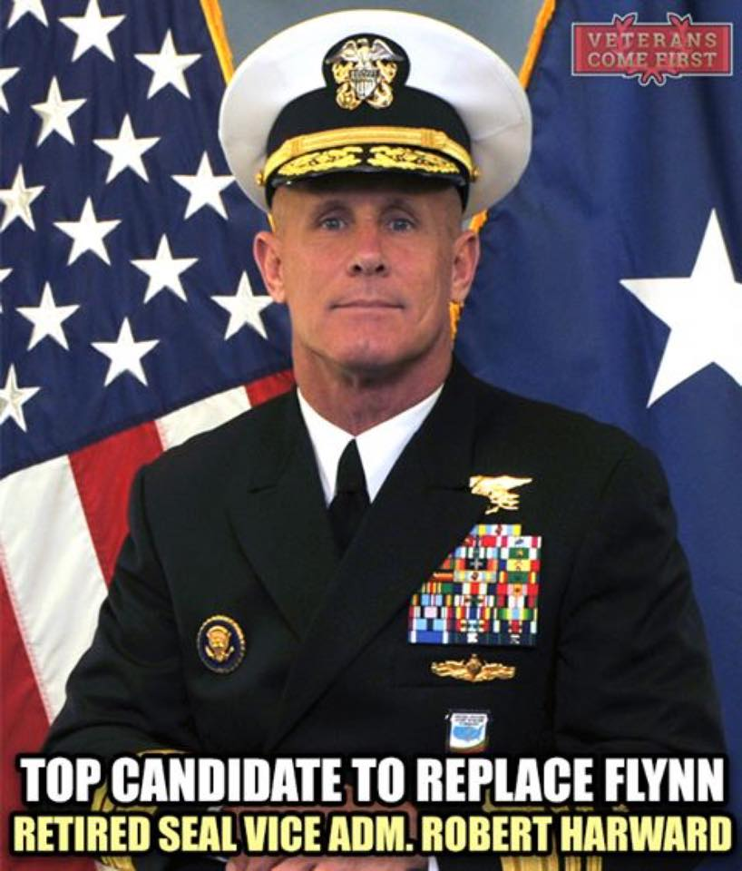 Trump is working to replace ousted national security adviser Michael Flynn. Trump's first choice  – retired Vice Adm. Robert Harward  – turned down the offer. (Photo: Uncle Sam's Misguided Children/ Facebook)