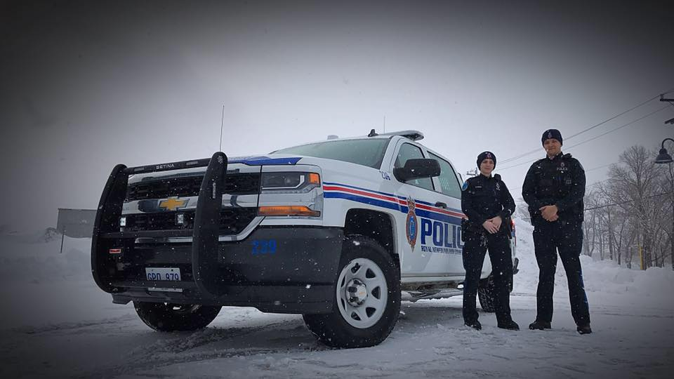 Four days before Christmas 2014, a young woman approached a parked police cruiser in the early hours of the morning. (Photo: Royal Newfoundland Constabulary/ Facebook)