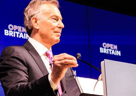 Former Prime Minister Tony Blair launched a new campaign Friday to persuade Britons to change their minds about leaving the European Union. (Photo: Tony Blair/Facebook)