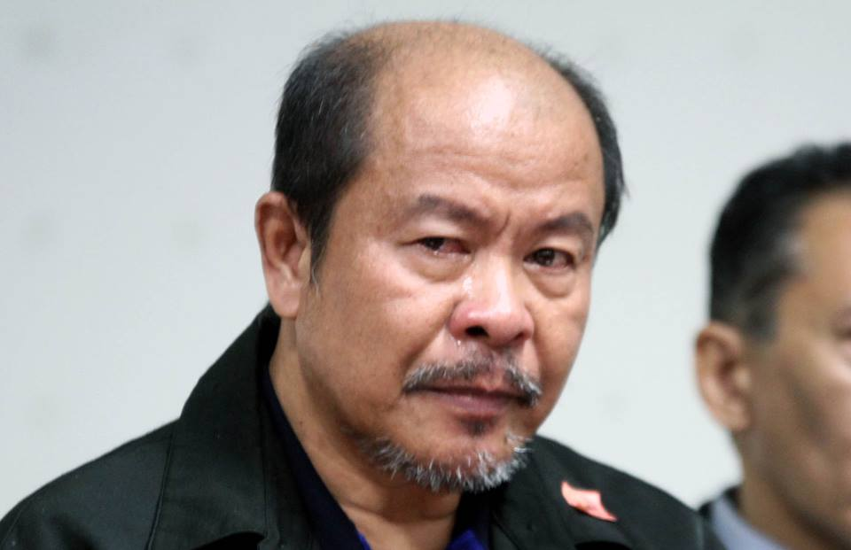 Lascañas said his conscience led him to allegedly tell the truth and back the claim of self-confessed hitman Edgar Matobato that the group was real. (Photo: Senate of the Philippines/ Facebook)