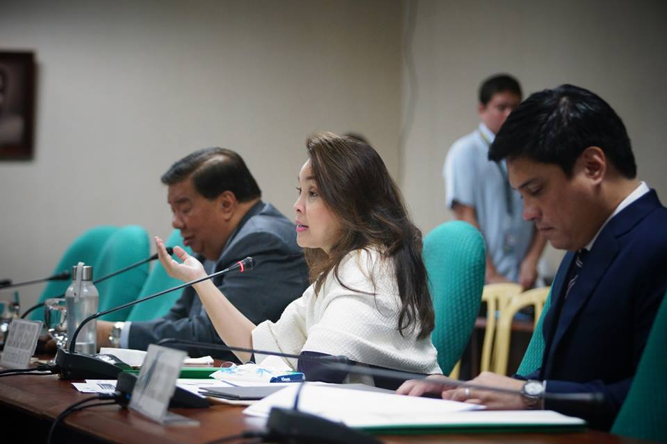 Legarda, chair of the Senate Committees on Finance and Climate Change, said the measure will complement the Philippine environmental laws and will contribute to their implementation. (Photo: Senator Loren Legarda/ Facebook)