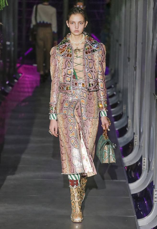 Milan fashion designers launched six days of fall-winter fashion previews on Wednesday, as the long-accepted runway format undergoes challenges like never before. (Photo: Gucci/Facebook)