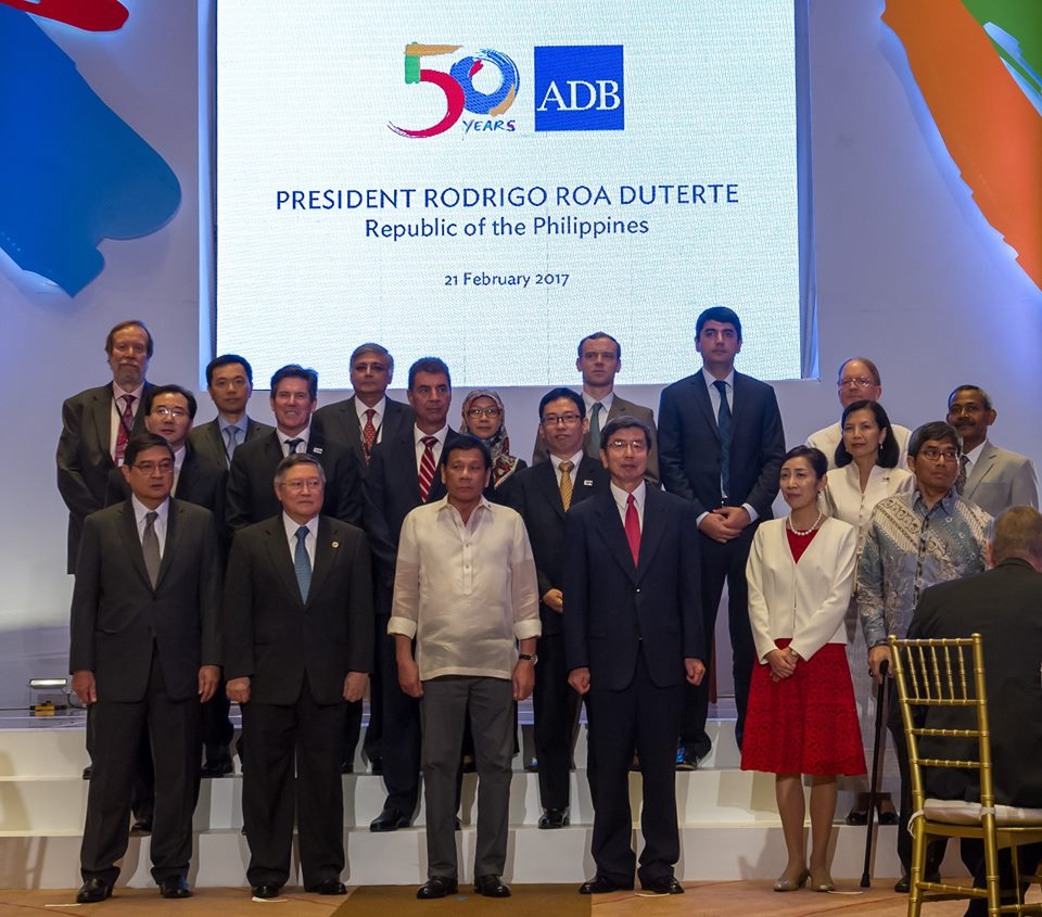 With the participation of local governments, President Duterte said his administration is also streamlining business registration and processes, providing support for targeted sectors and intensifying the war against illegal drugs, criminality and corruption. (Photo: Asian Development Bank - ADB/ Facebook)