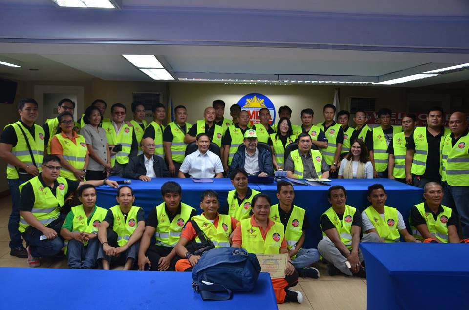 """""""Except in emergency cases, only deputized traffic personnel of the MMDA have the authority to manage and control the direction of traffic,"""" Orbos said in a statement. (Photo: MMDA/ Facebook)"""