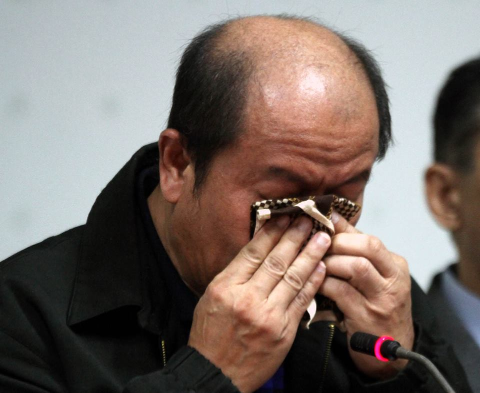 Lascañas, in a press conference Monday, said his conscience led him to back the claim of self-confessed hitman Edgar Matobato that the death squad was real. (Photo: Senate of the Philippines/ Facebook)