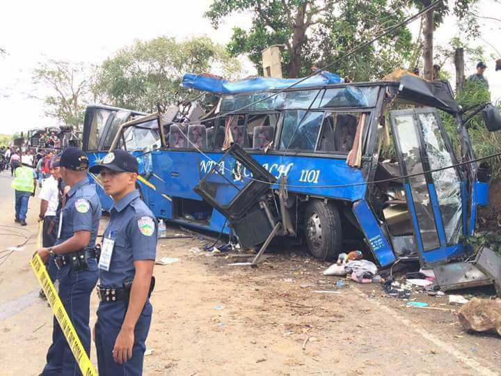 Public Attorney's Office (PAO) chief Persida Rueda - Acosta on Tuesday said that PAO lawyers will provide legal assistance to the families of the victims on the bus crash that killed 14 students in Tanay, Rizal. (Photo: Our Lady of Lourdes Parish - Altar Servers/ Facebook)