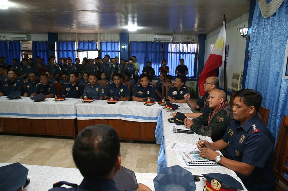 "Philippine National Police (PNP) chief Director General Ronald ""Bato"" Dela Rosa on Monday admitted that they already wanted to return to the war against illegal drugs. (Photo: Philippine National Police/ Facebook)"