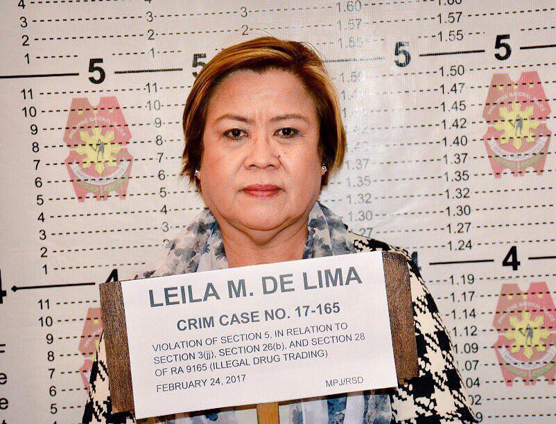 The legal counsel of Sen. Leila de Lima on Monday filed an 82-page petition before the Supreme Court (SC) questioning the legality of her arrest.(Photo:  PTV/Facebook)