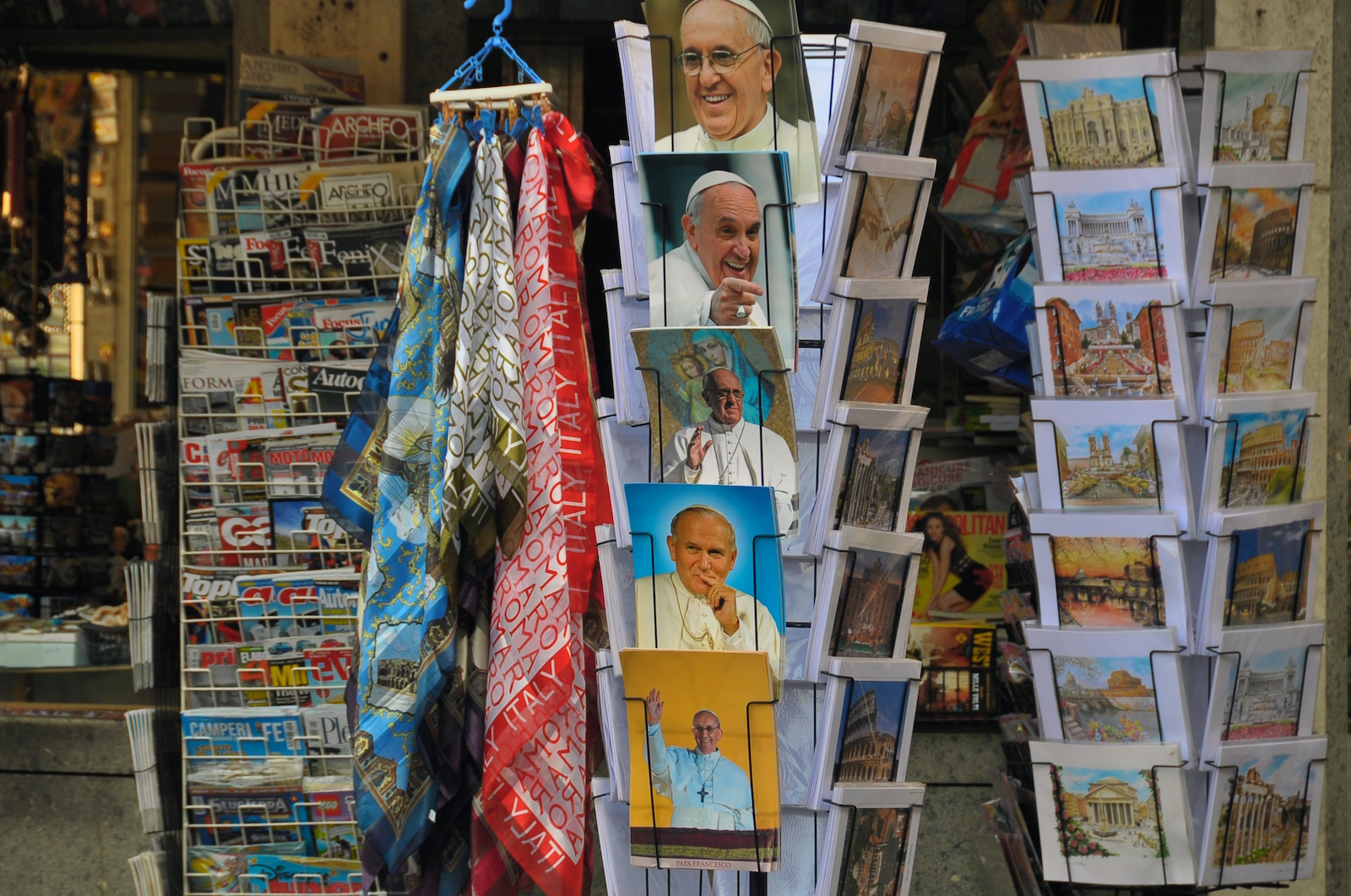 The popularity of Francis and the ease with which his image can be copied in the internet age has spawned a flood of papal trinkets, causing the Holy See to worry that they are losing control of his image. (Photo: faungg's photos/Flickr)
