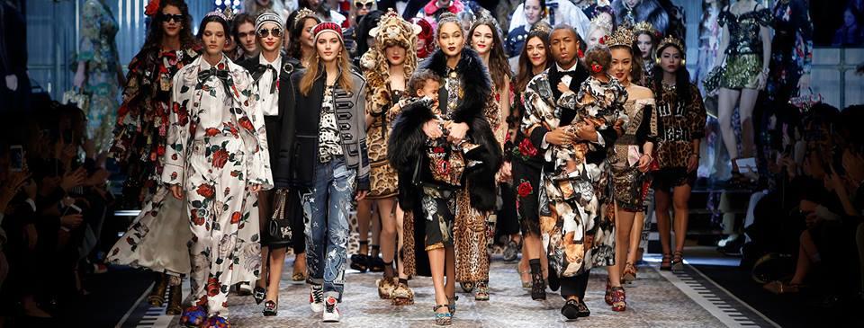 ALL ABOUT FAMILY AT DOLCE&GABBANA (Photo: Dolce & Gabbana/ Facebook)