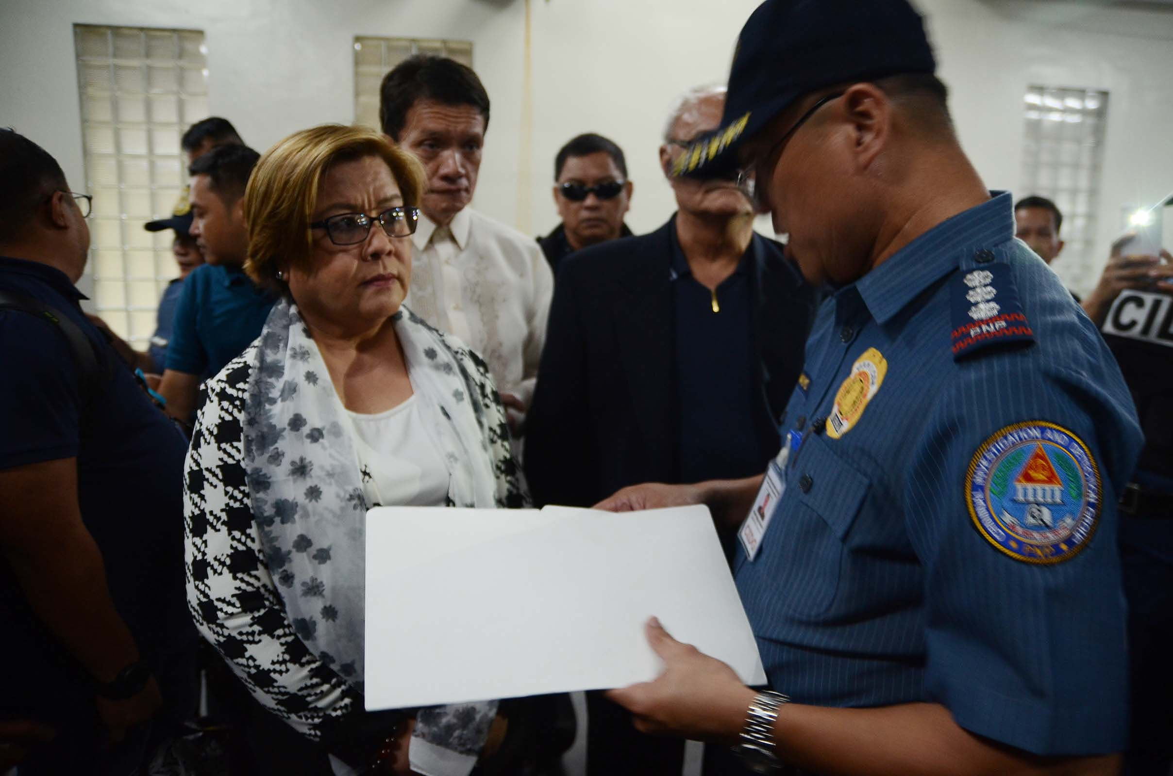 Department of Justice prosecutors on Friday filed a motion for consolidation before the Muntinlupa City Regional Trial Court to consolidate the three drug cases filed against Senator Leila De Lima in connection with her alleged involvement in the illegal drugs trade at the New Bilibid Prison. . (PNA photo by Avito C. Dalan)