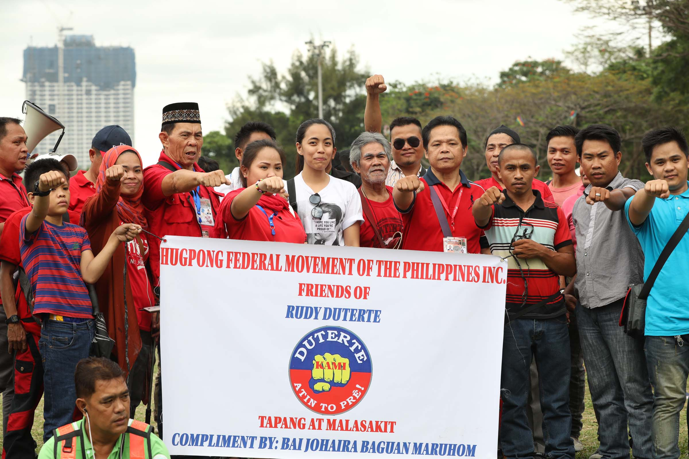 """If the implication is that the DSWD forced the beneficiaries of the 4Ps program to attend the rally in support of Pres. Rodrigo Duterte yesterday (Saturday), we categorically deny it,"" said Taguiwalo. (Photo: Avito C. Dalan/ PNA)"